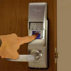 قفل الکترونیکی صفحه کلیدی