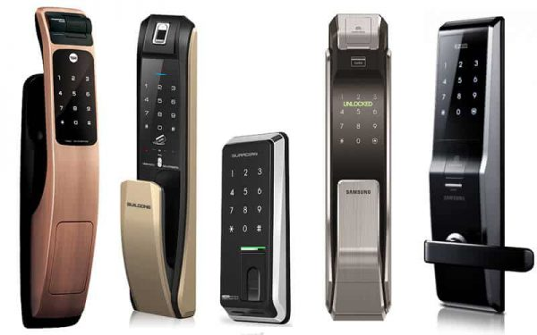 قفل الکترونیکی رمزدار