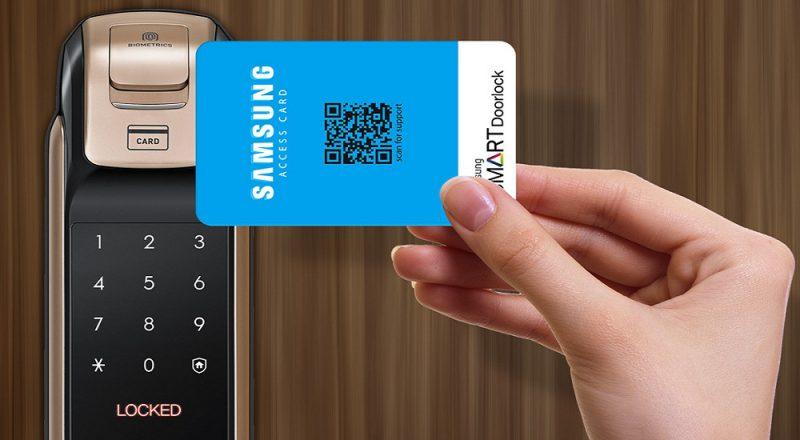 مزایا استفاده از قفل کارتی