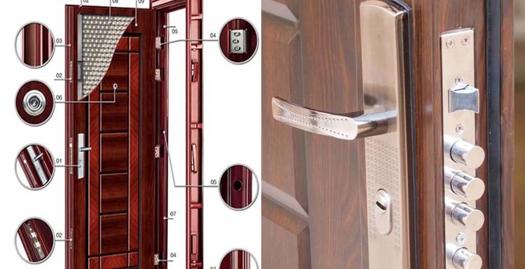 قفل های رایج در ساختمان های مسکونی